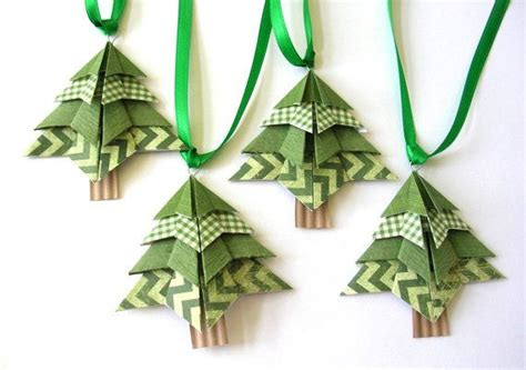 Origami Tree Decorations - origami tree ornaments decorations