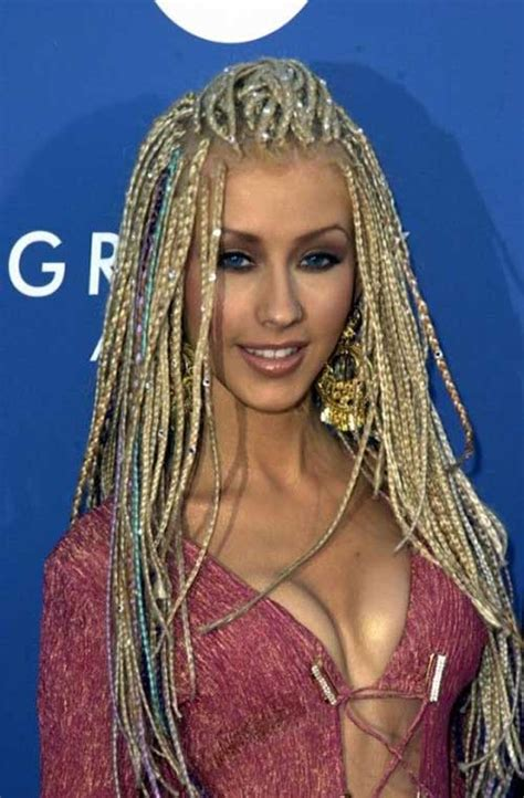 women with long blonde braids 15 micro braids styles long hairstyles 2017 2018