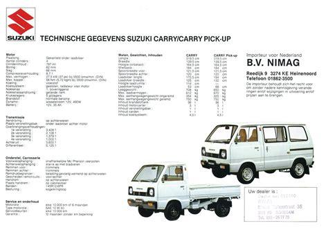 Suzuki Carry Manual Suzuki Carry Brochure