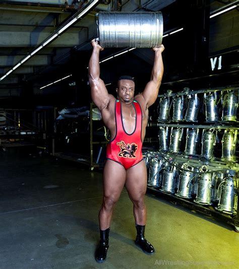 big e langston bench press wwe big e weight lifting