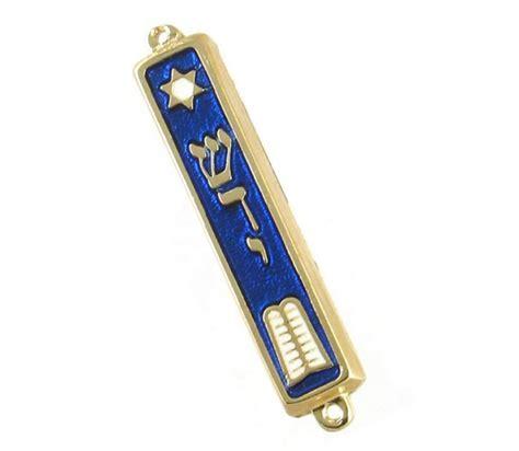 10 commandments mezuzah 24k gold plated ajudaica com