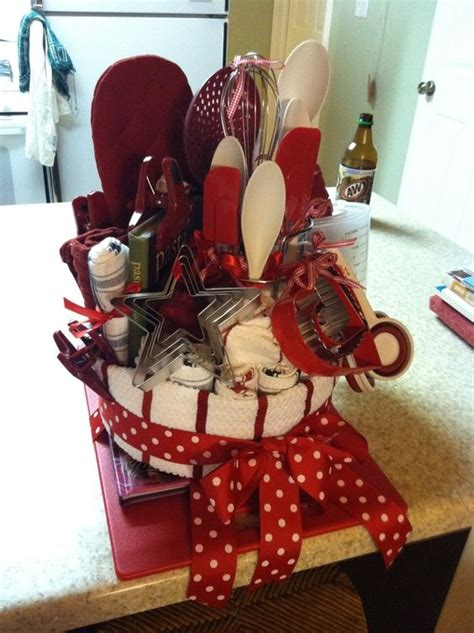 bridal shower kitchen gift ideas wedding shower gifts and cake pans on