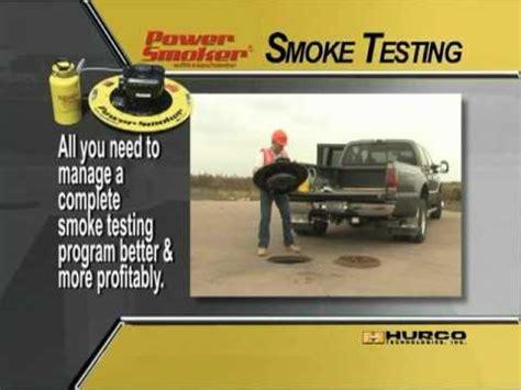 Plumbing Smoke Test Cost by Hurco Technologies Powersmoker