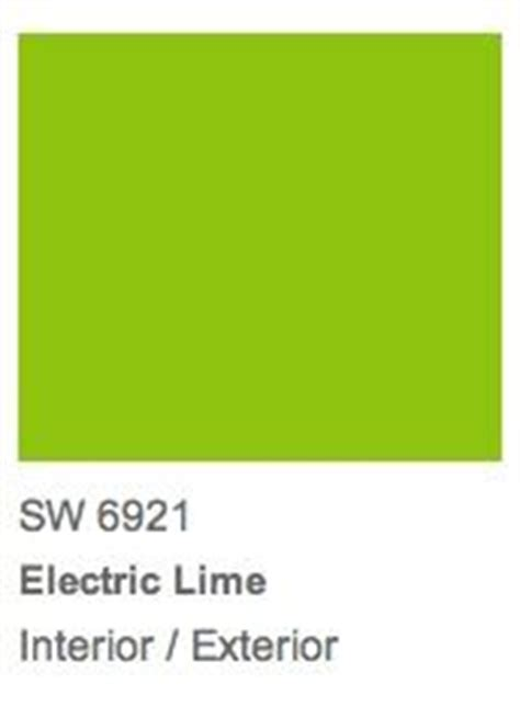 electric bright green and limes on