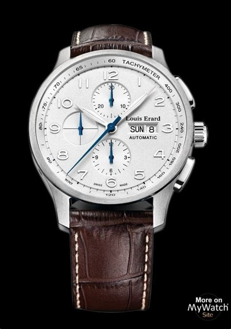 louis erard louis erard watch 1931 chronograph 44mm made of steel