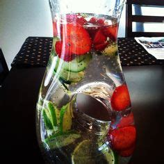 Strawberry Lime Cinnamon Detox Water by 1000 Images About Fruit Water Detox And Teas On