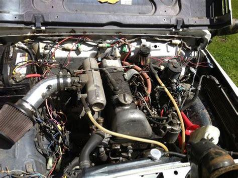 Suzuki Diesel Engines Purchase New 1987 Suzuki Samurai 4x4 Diesel 2 2 Mercedes