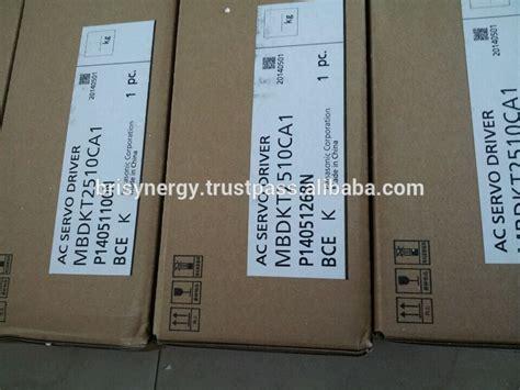 Panasonic Servo A6 400w 1 Set panasonic servo driver mbdkt2510ca1 400w 50 60hz ac servo