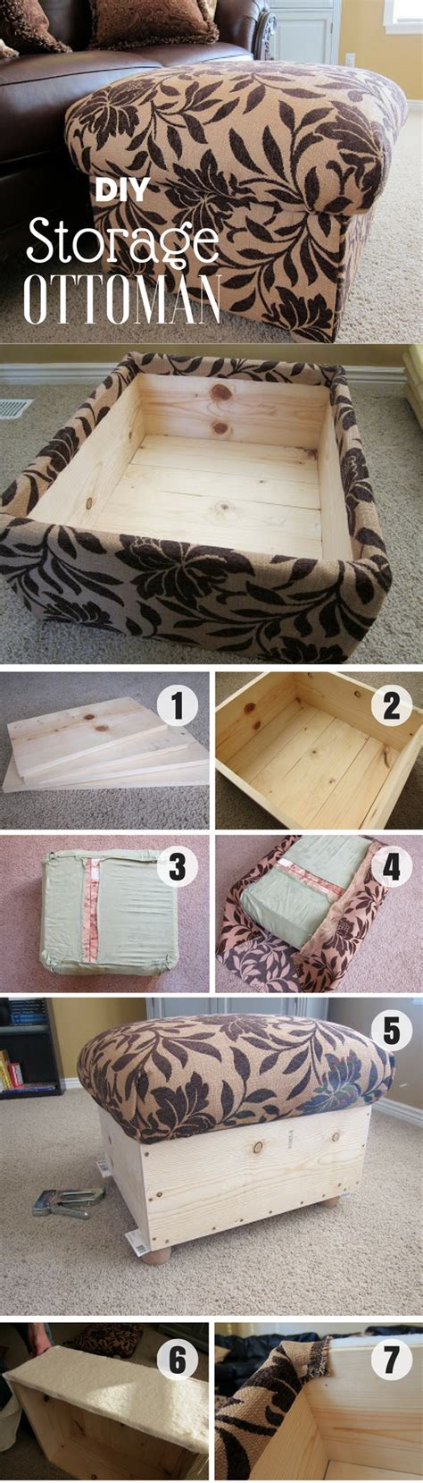 make your own pouf ottoman 15 easy diy ottoman ideas you can make on a budget