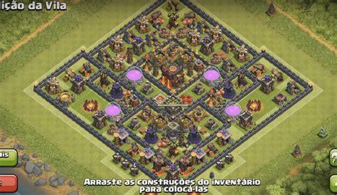 layout coc th 10 terbaik gambar pertahanan coc yang kuat gambar 06