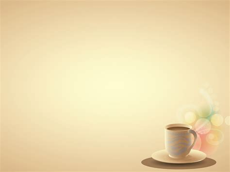 Coffee Brown Backgrounds Brown Foods Drinks Green Coffee Powerpoint Template