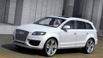 Audi White Audi Q7 White 2014