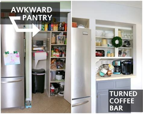 Coffee Pantry by Kitchen Pantry Converted To A Coffee Bar Hometalk