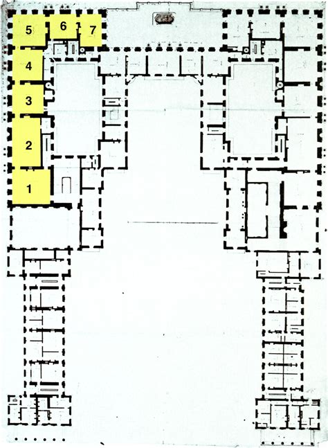 palace of versailles floor plan grand appartement de la reine wikiwand