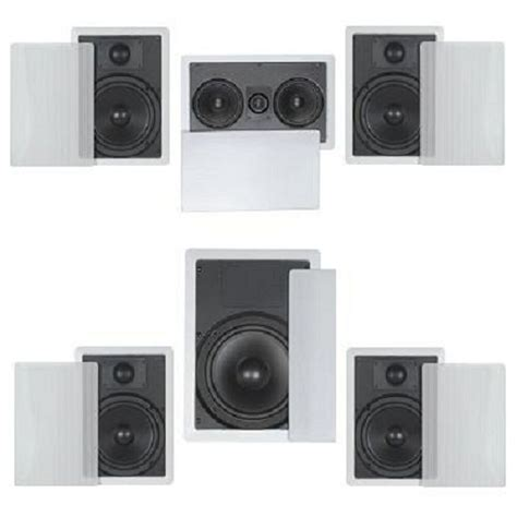 flush  wall ceiling speakers  home theater surround