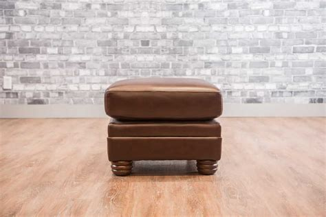 the small leather ottoman collection canada s