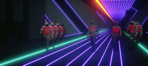 Tron 1982 the cult movie visual effects front effects