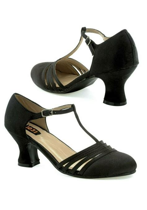 1 Inch Wedge Dress Shoes by Ellie Shoes 254 Lucille S 2 1 2 Inch Heel Satin Shoe Ebay