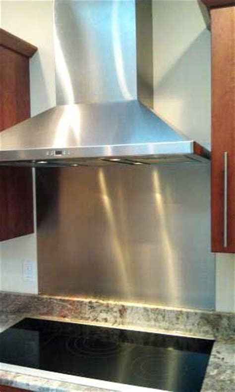 give your range a professional look with a stainless steel