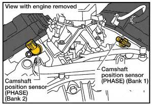 2004 Nissan Maxima Camshaft Position Sensor Rogue 2011 Nissan Rogue How Do You Replace The Blower