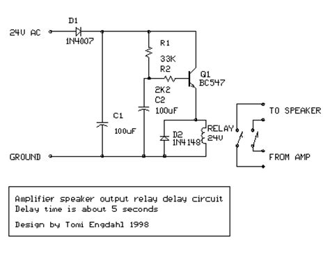 bc547 transistor output bc547 transistor for output relay delay audio lifier
