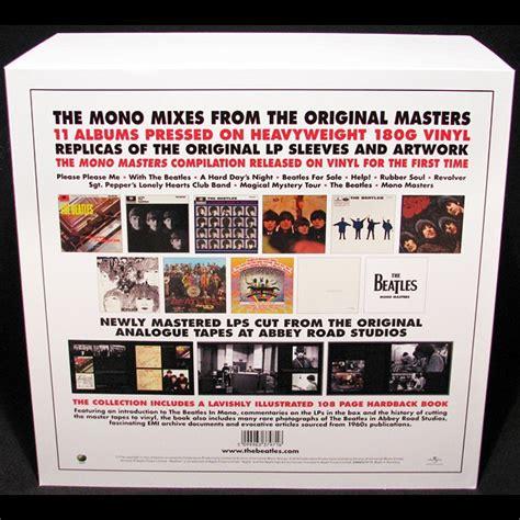 The Beatles In Mono the beatles in mono deluxe box set 14lp 180g vinyl all