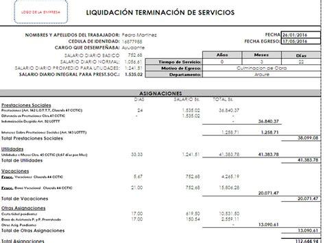 liquidacion prestaciones 2016 colombia liquidacion prestaciones ejemplo 2016 f 211 rmulas para