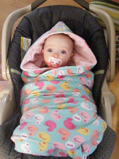 infant car seat swaddle blanket tutorial hooded car seat blankies the complete guide