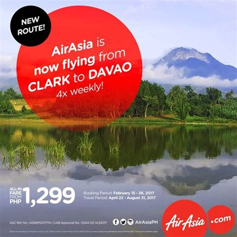 airasia refund policy airasia reconnects clark to davao flights davao life