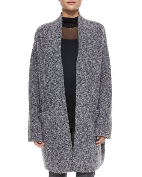 coats and sweaters rag bone diana wool blend sweater coat in gray lyst