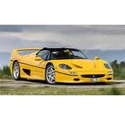Photoshoot Yellow Ferrari F50 In Switzerland  Motorward