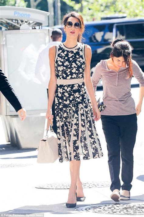 Wardrobe Dresses by Amal Clooney Continues Run Of Style Hits As She