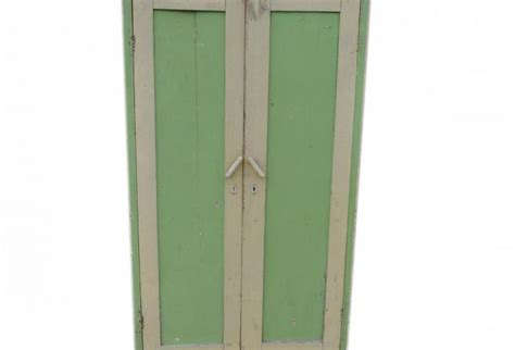 vintage painted green wardrobe armoire omero home