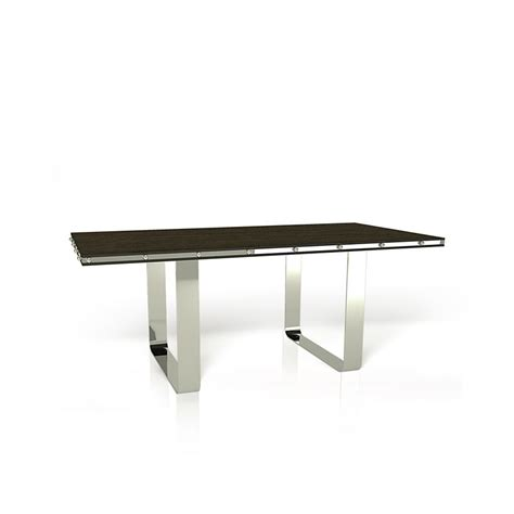 u base rectangular dining table hyde park home