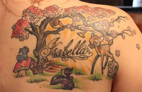 isabella tattoo a in honor of my daugther
