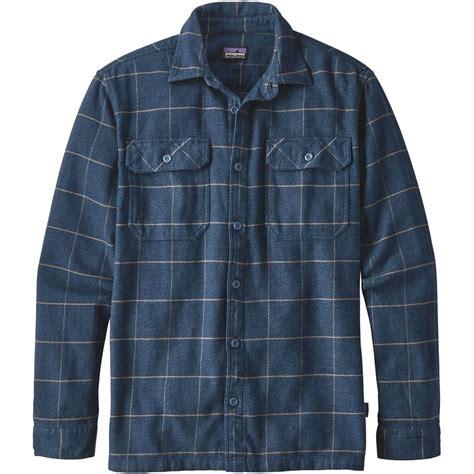 Kemeja Flannel Tartan Blue patagonia fjord flannel shirt s backcountry