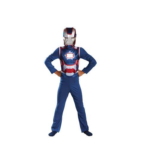 iron man patriot boys costume superhero costume