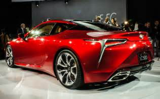 lexus revives style sport with lc 500 coupe pictures