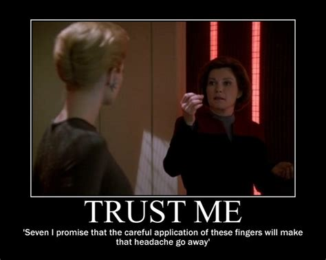 Star Trek Voyager Meme - 1000 images about janeway and seven motivators on