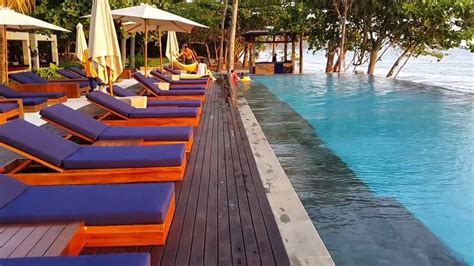 catamaran beach resort lombok katamaran resort lombok youtube