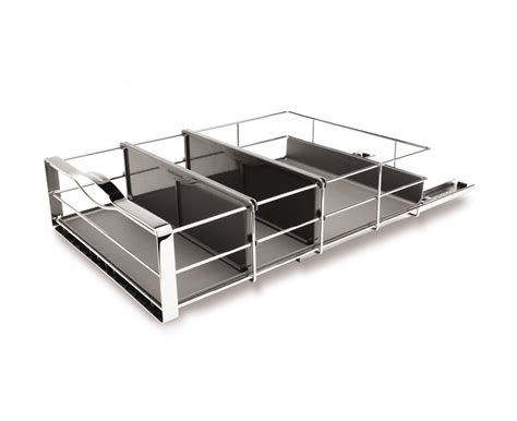 simplehuman 14 inch pull out cabinet organizer