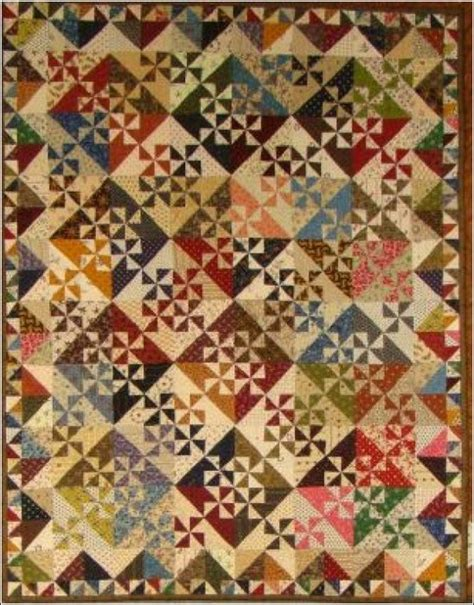 Pinwheels Quilt Shop by Pinwheel Garden By Primitive Gatherings Quilts