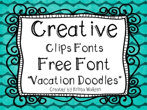 best free doodle fonts 85 best images about creative chalkboard pins on