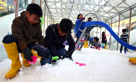 Fiforif Asli Di Tangerang Selatan wow tangerang pesta salju untuk pertama kalinya merahputih