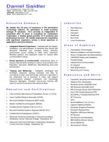 Resume Executive Summary by Resume Executive Summary Getessay Biz