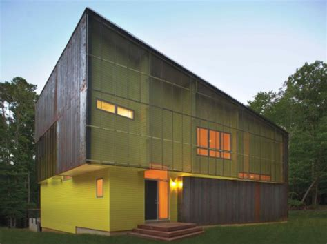 modern home design north carolina crabill house a modern energy efficient forest shed in