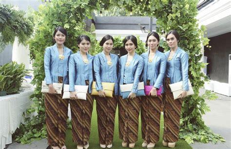 contoh kebaya seragam 14 seragam kebaya modern panitia pernikahan untuk remaja