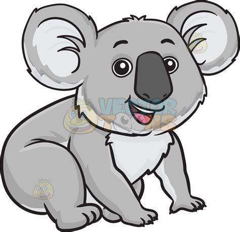 koala clipart an adorable koala clipart vector