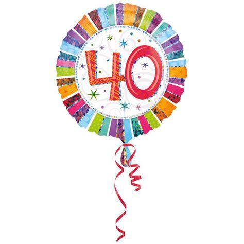 Ballon Helium 40 Ans Ballon Deco Anniversaire 40 Ans