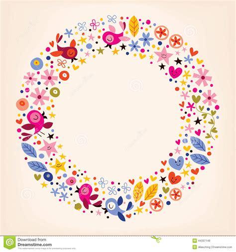 Blumen Sticker Für Nägel by Blumen Herzen V 246 Gel Lieben Retro Rahmenhintergrund Des
